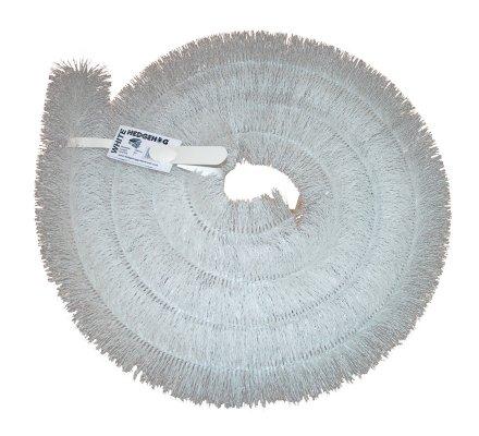 Echantillon Protège gouttière Hedgehog Blanc 10cm