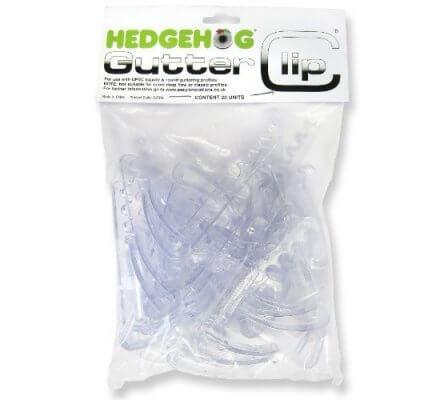 Gutter Clip Hedgehog X20 pour hérisson brosse