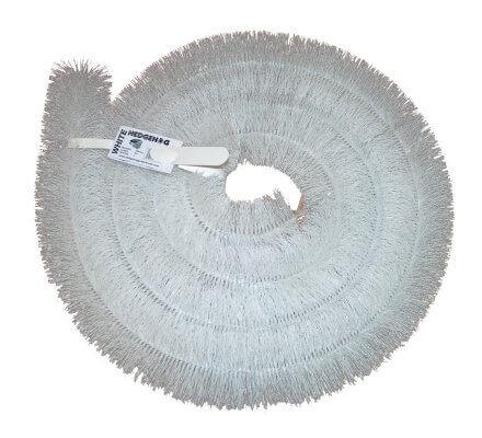 Échantillon Protège gouttière Blanc / Longueur 10cm
